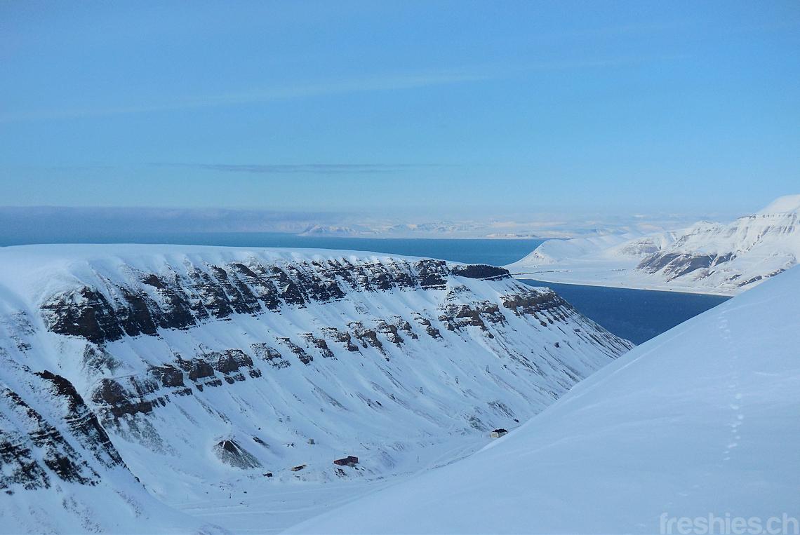 In the backyard of Longyearbyen