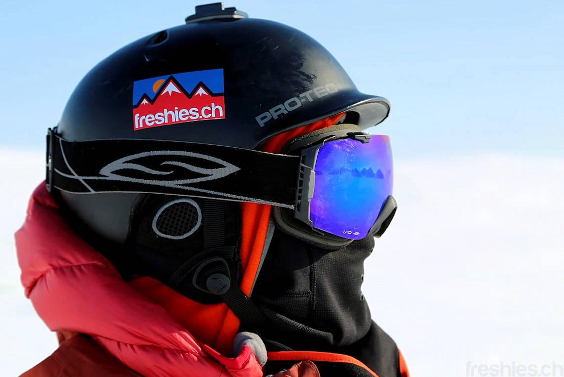eisige Kälte auf Svalbard