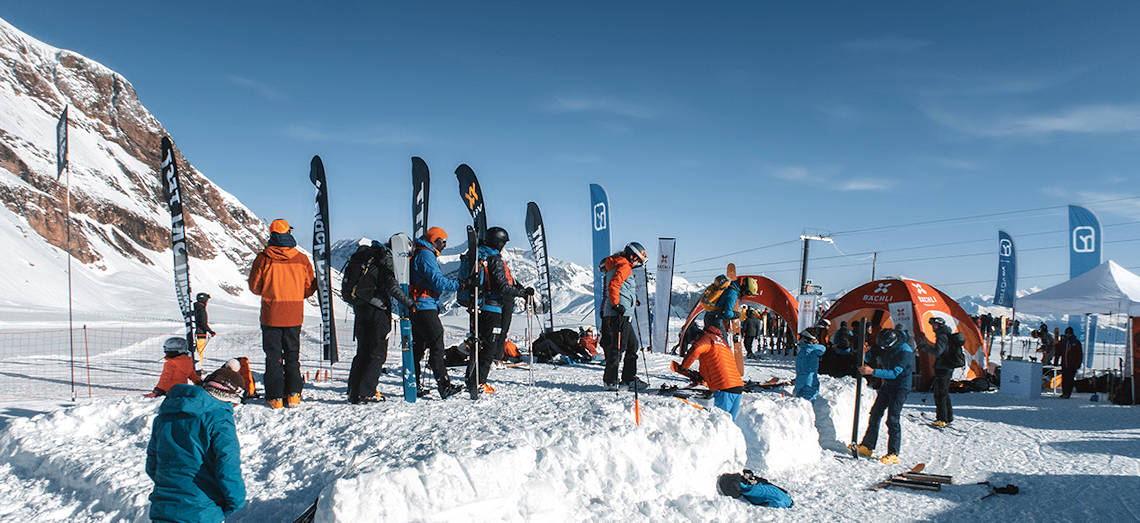 Bächli Bergsport Testvillage in Les Diablerets