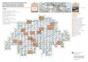 Landeskarte 1:25 000